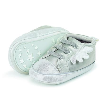 Sterntaler Girls Baby-Schuh Flügel weiß