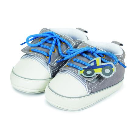 online retailer 74896 2e5ef Sterntaler Boys Baby-Schuh Truck steingrau