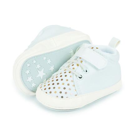 Sterntaler Girls Baby-Schuh Lederimitat weiß