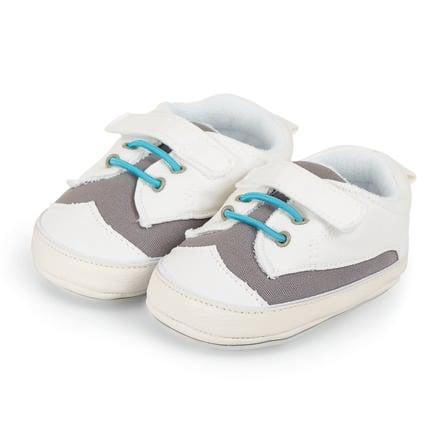 Sterntaler Boys Chaussure bébé gris pierre