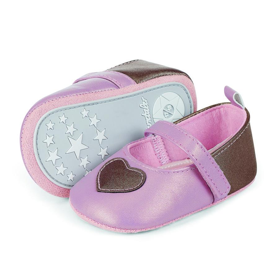 Sterntaler Girl s Zapatos de bailarina rosa