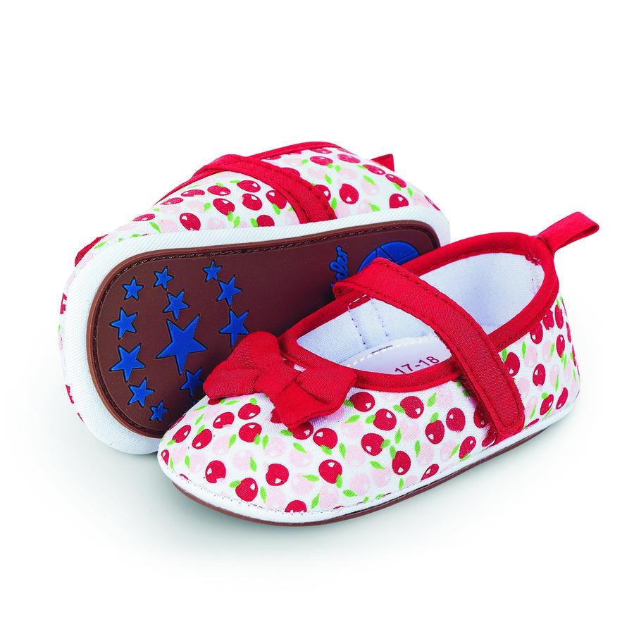Sterntaler Girl s Ballerina shoe shoe shoe ogień Ballerina czerwony