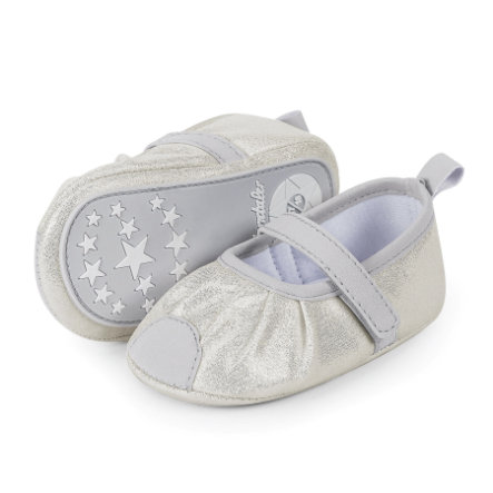 Sterntaler Girl s Zapato de bailarina gris claro