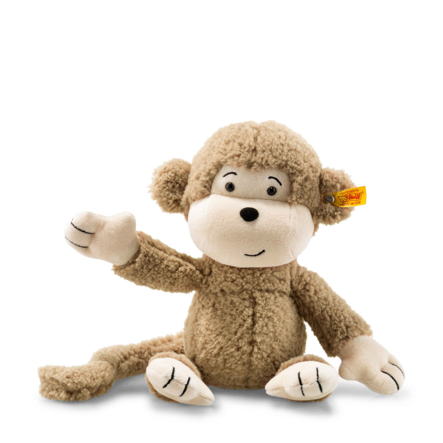 Steiff Monkey Brownie 30 cm lysebrun
