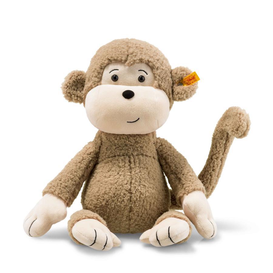 Steiff Monkey Brownie 40 cm lysebrun