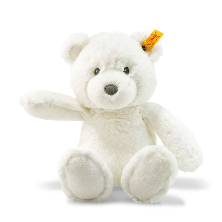 Steiff Teddybär Bearzy 28 cm weiss