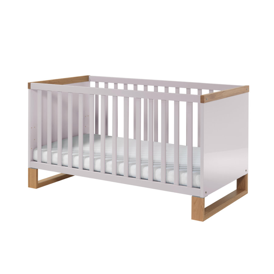 wellem bel kinderbett benno riviera eiche lilac grey kufen. Black Bedroom Furniture Sets. Home Design Ideas
