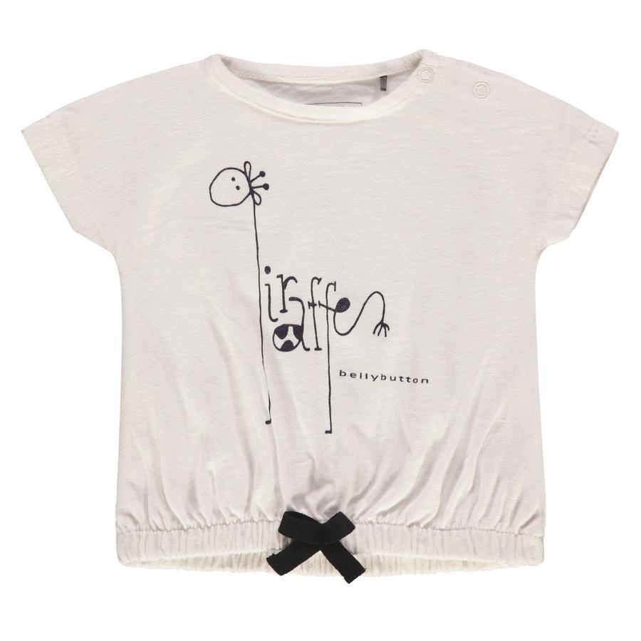 bellybutton Girls T-Shirt, Giraffe weiß