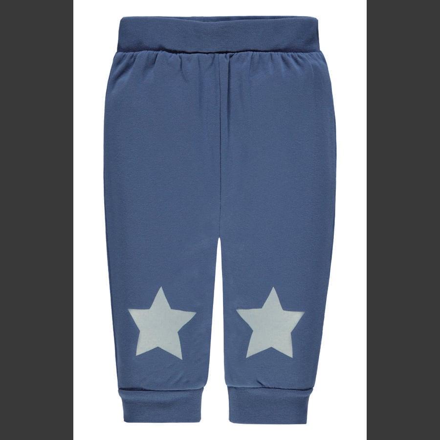 bellybutton Boys spodnie do joggingu, niebieskie z gwiazdami.