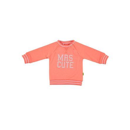 b.e.s.s Sweatshirt Mrs. Cute coral