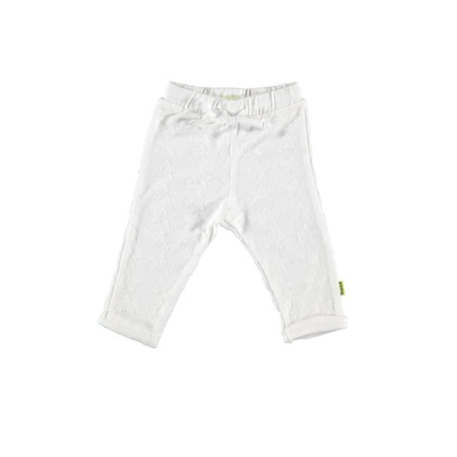b.e.s.s Pantalón Terry estrella de mar blanco