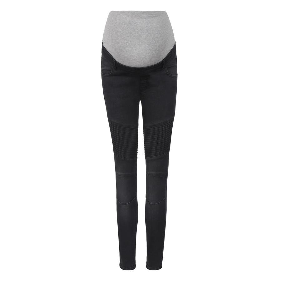 bellybutton Jeans premaman con fascia, grigio scuro