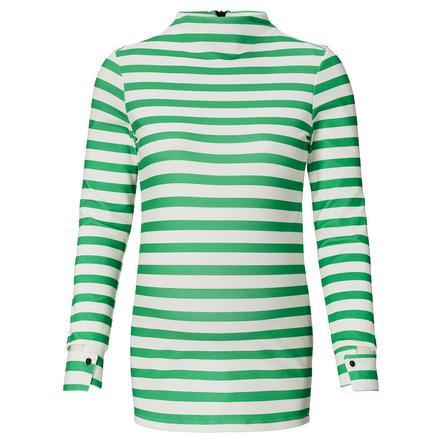 SUPERMOM Overhemd met lange mouwen groen gestreept