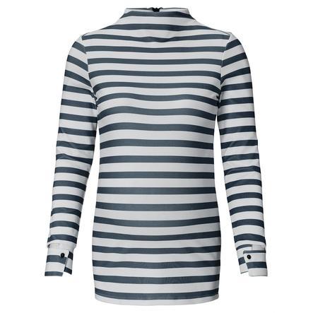 SUPERMOM Camicia manica lunga a righe nere