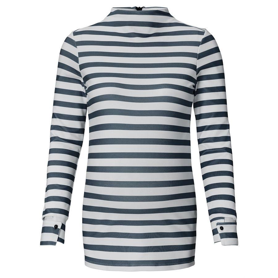 SUPERMOM Shirt met lange mouwen Zwart Gestreept