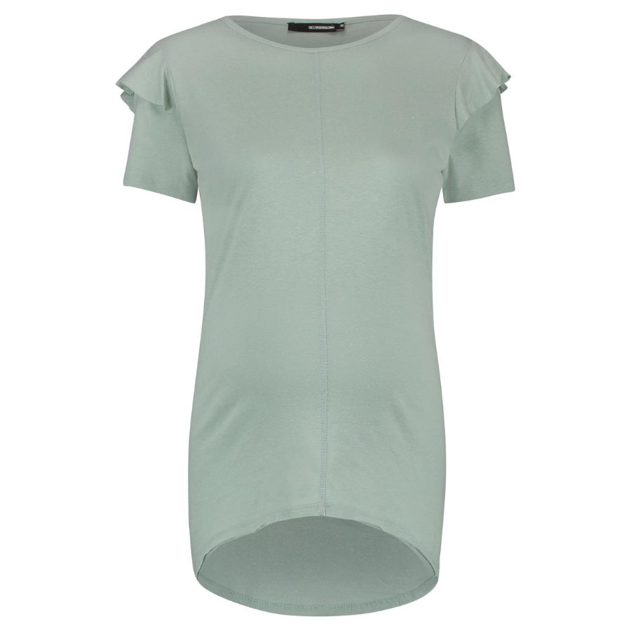 SUPERMOM T-Shirt Ruffle Light Green