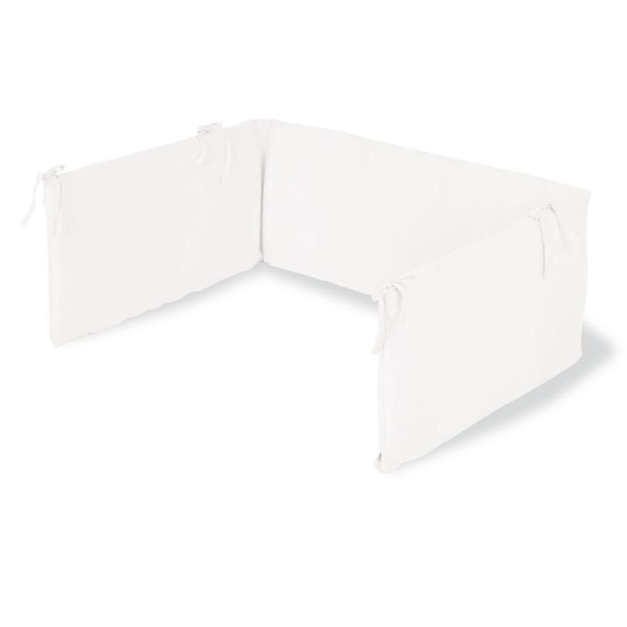 Pinolino Tour de lit enfant éponge blanc 140x70 cm