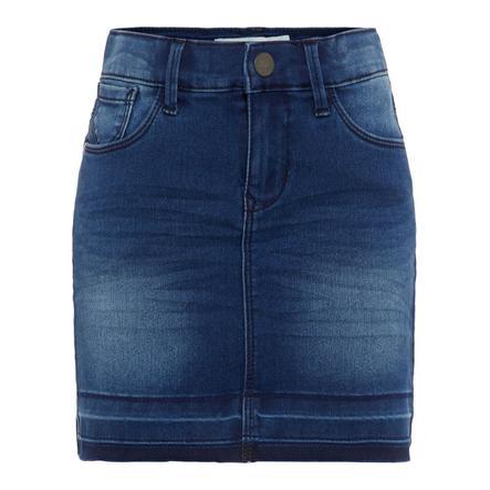 name it Girls Jeansrock Nkftenne medium blue denim
