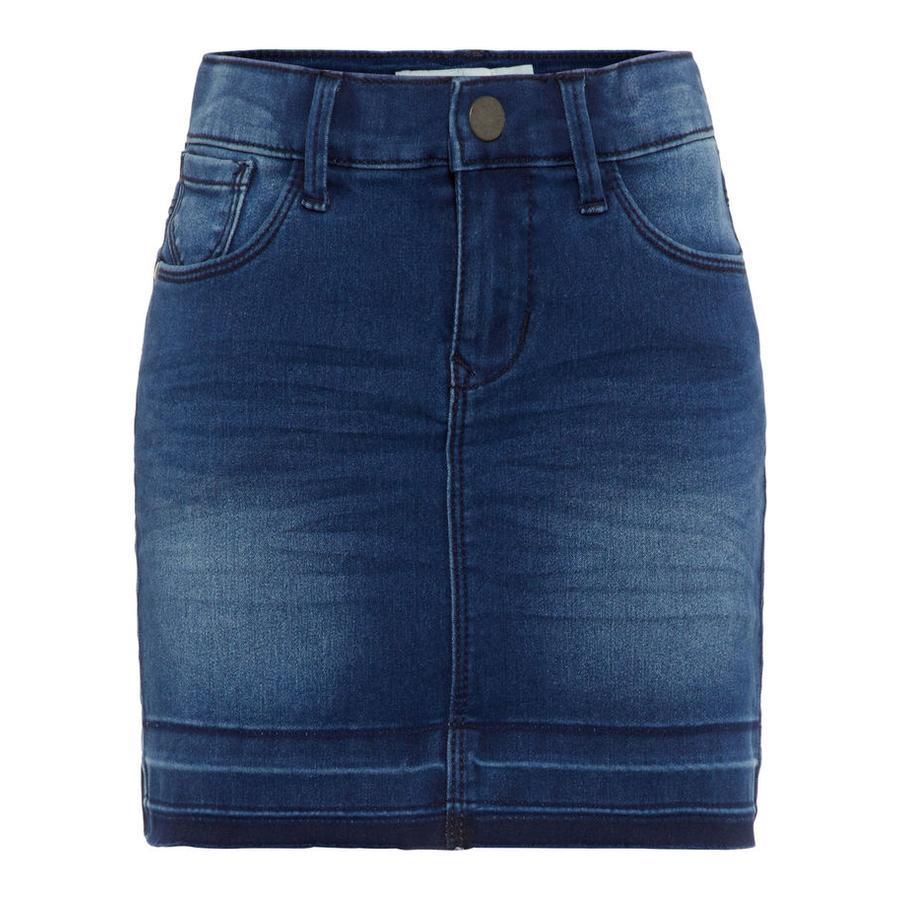 name it Girl s denim skirt Nkftenne medium blue denim