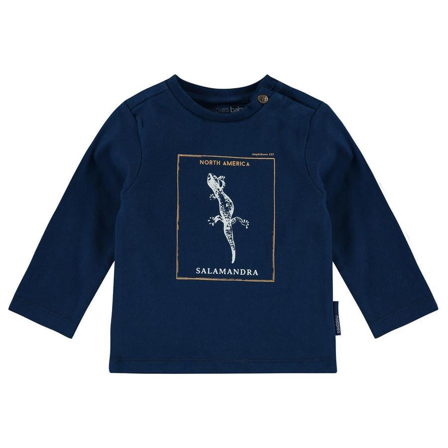 noppies Shirt met lange mouwen Larose licht kobalt