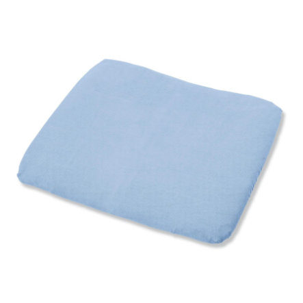 PINOLINO Frottee Bezug für Wickelauflagen hellblau