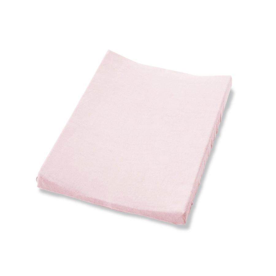 PINOLINO Frottee Bezug für Wickelmulden, rosa