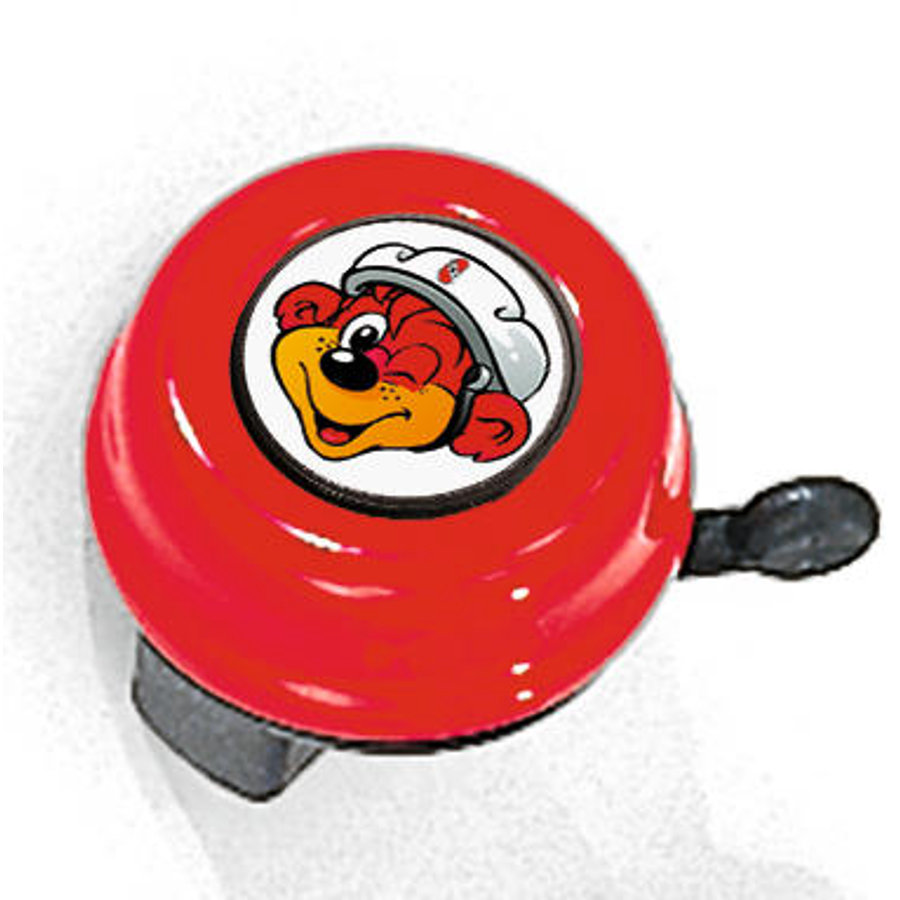 PUKY® Fietsbel G16, rood 9981