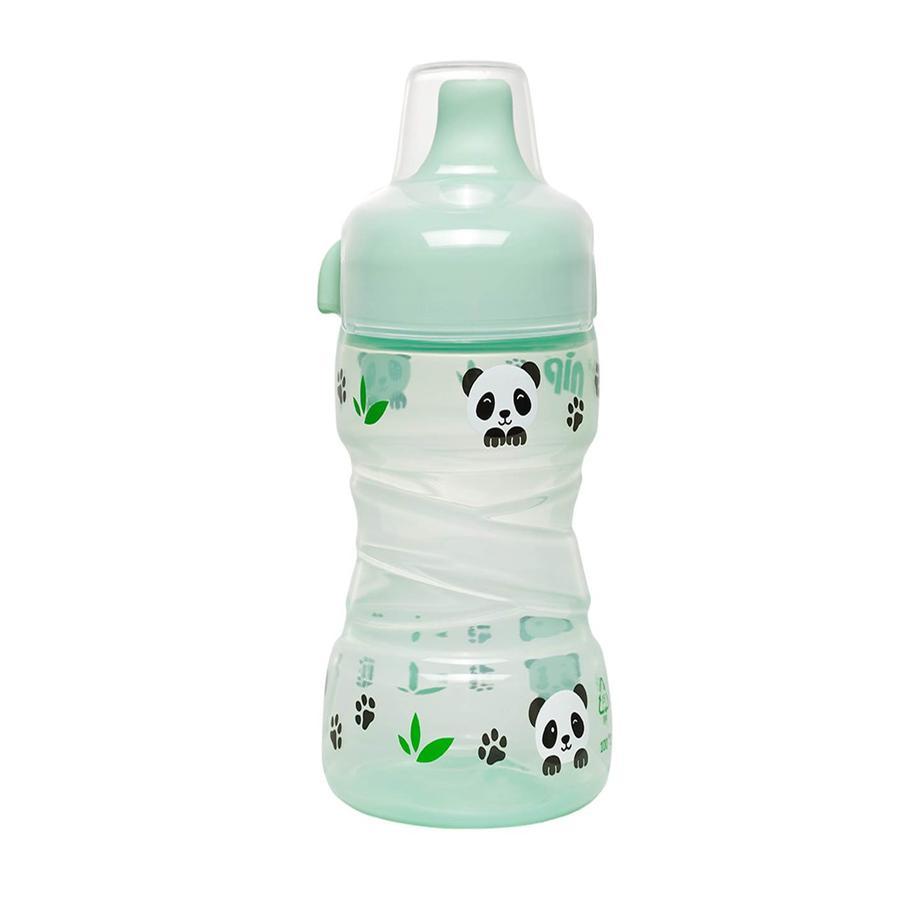 nip Trainer Beker PP met vaste drinkbeker Panda 260 ml