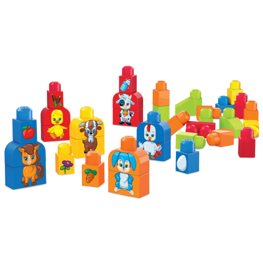 Mega Bloks: Sestav si zvířátka