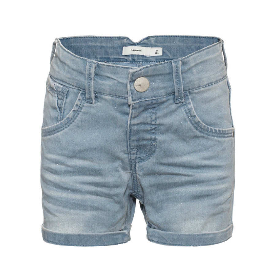 name it Girl s Jeans Shorts Jeans Badora denim bleu clair