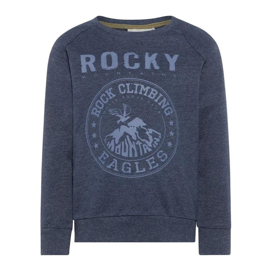 name it Boys Sweatshirt robe Nmmvalexander bleu bleus