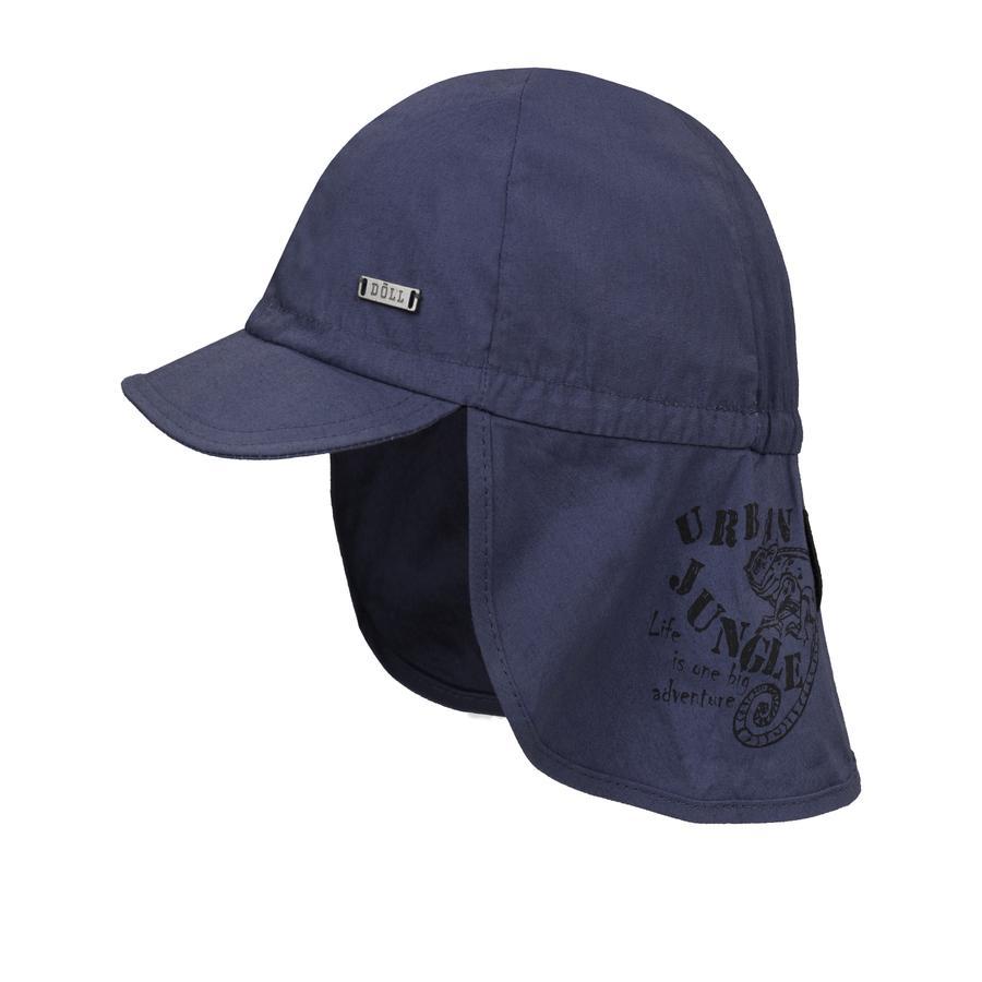 Döll Chłopcy czapka z daszkiem z osłoną na szyję  grass green