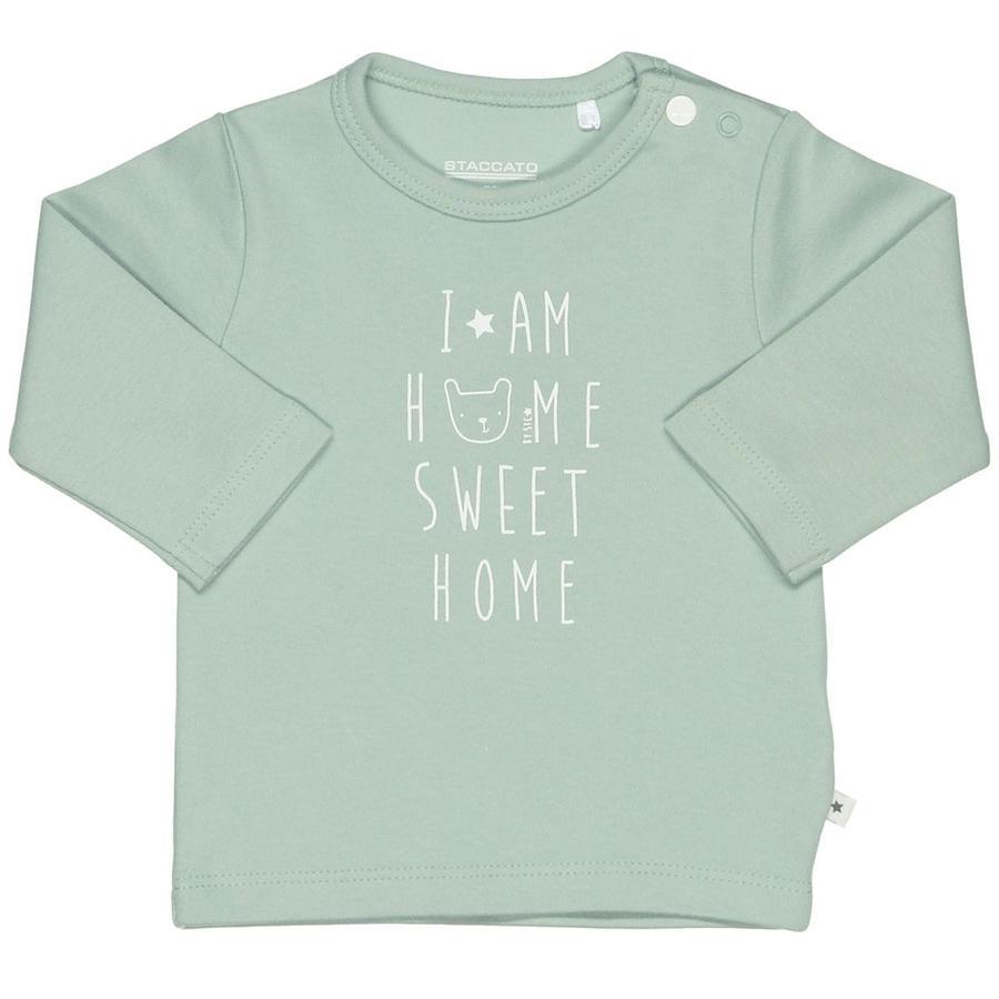 STACCATO Camisa manga larga jade