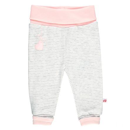 Feetje Girl s Pantalones de chándal ringel más fiestas de pijamas gris