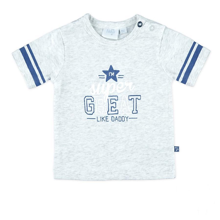 Feetje Poikien t-paita hienoa tähtiharmaa