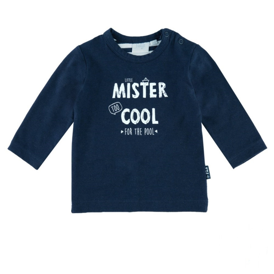 Feetje Boys Langarmshirt mister cool nice to eat you marine