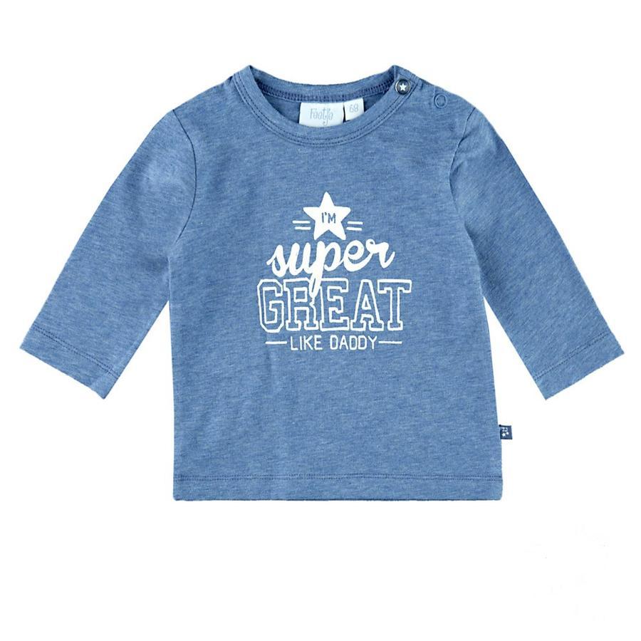 Feetje Boys Lange mouw shirt super groot ster blauw