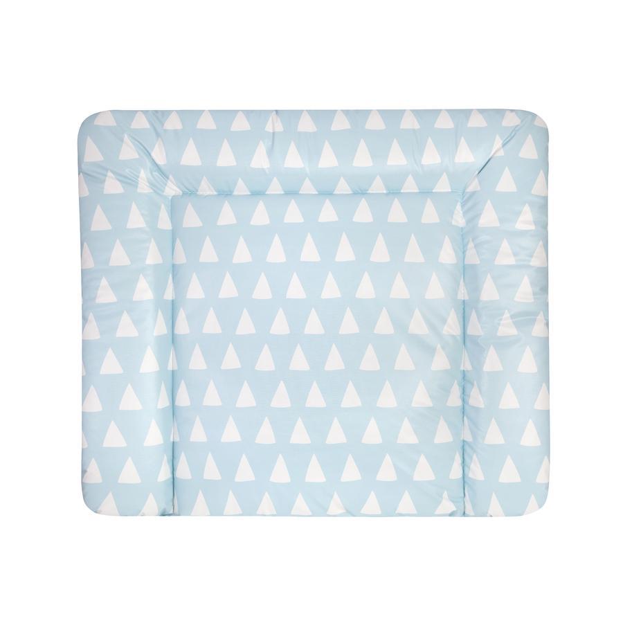 JULIUS ZÖLLNER skiftematte Softy Triangel blå 75 x 85 cm