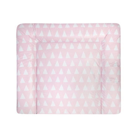 JULIUS ZÖLLNER Matelas à langer Softy triangle rose 65x75 cm