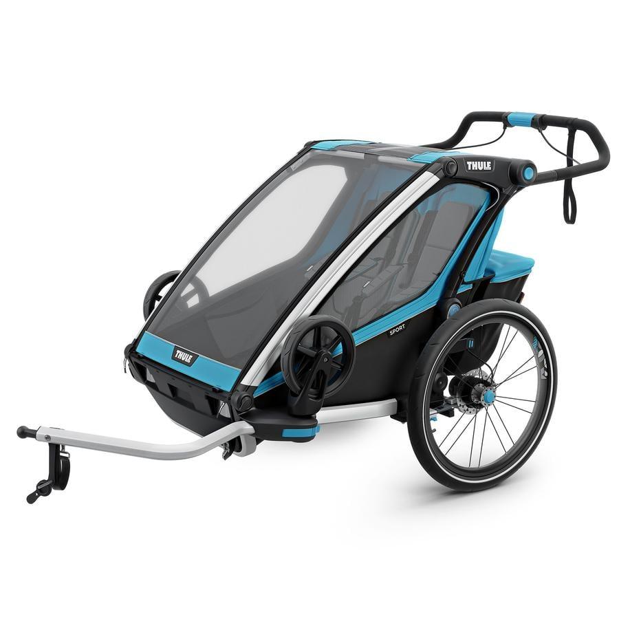 Thule Remorque de vélo enfant Chariot Sport 2 bleu