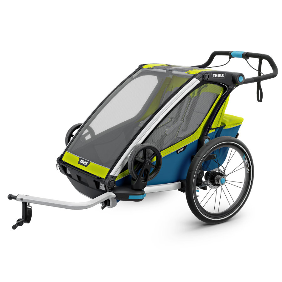 Thule Fietsaanhanger Chariot Cab 2 Chartreuse