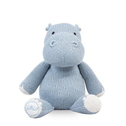 jollein Hippo giocattolo morbido, soft blue