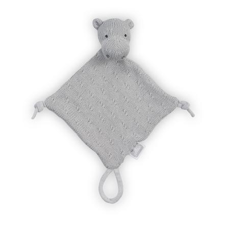Jollein Hippo Tela para acurrucarse, gris claro