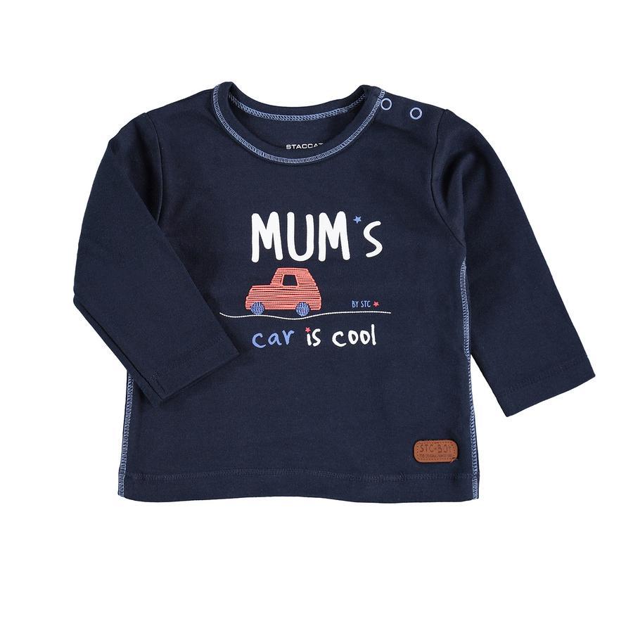 STACCATO Shirt met lange mouwen donker marineblauw