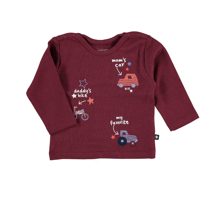 STACCATO Boys Langarmshirt bordeaux