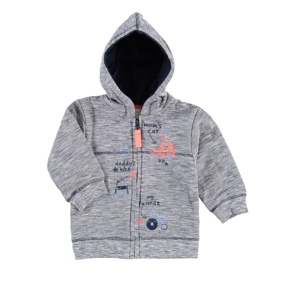 STACCATO Boys Sweatjacke dark navy structure