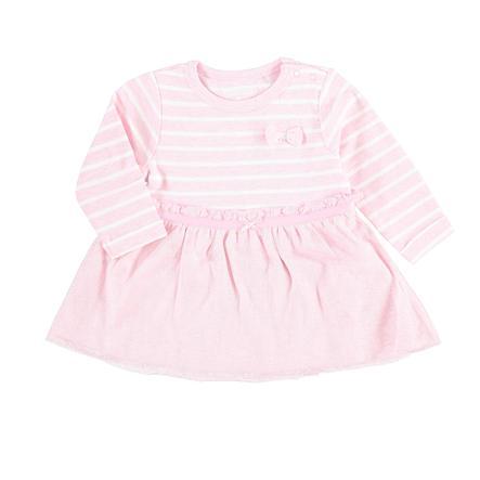STACCATO Girl s abito rosa melange a righe melange