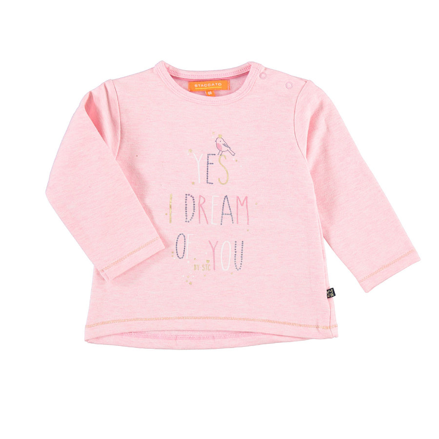 STACCATO Girls Sweatshirt rose melange