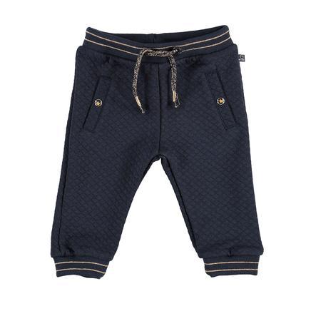 STACCATO Girl s pantalones de chándal estructura azul marino
