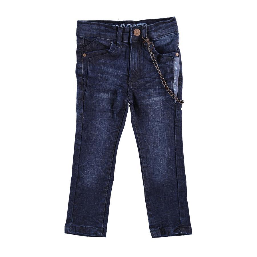 STACCATO Boys Jeans Skinny avec chaîne en denim bleu foncé